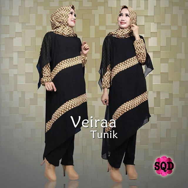 Baju Muslim Veiraa set by SQD