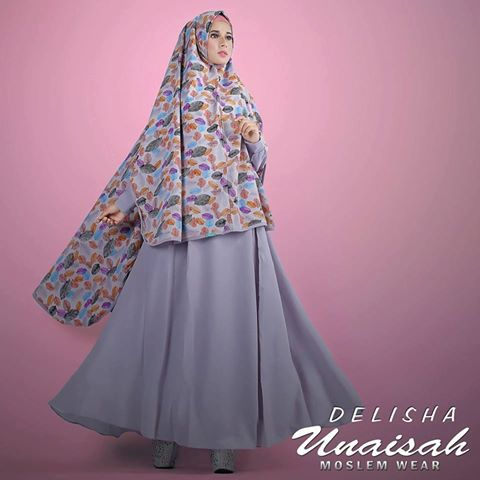 Baju Muslim DELISHA by UNAISAH