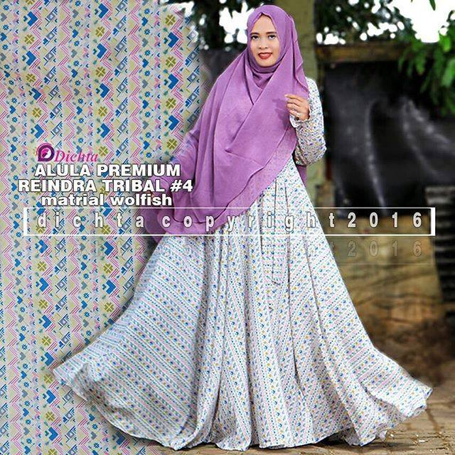 Baju Muslim Reindra tribal by Dicta