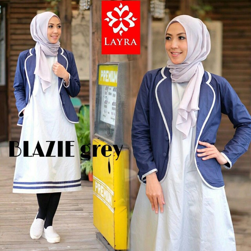 Baju Muslim Blazie tunique by Layra