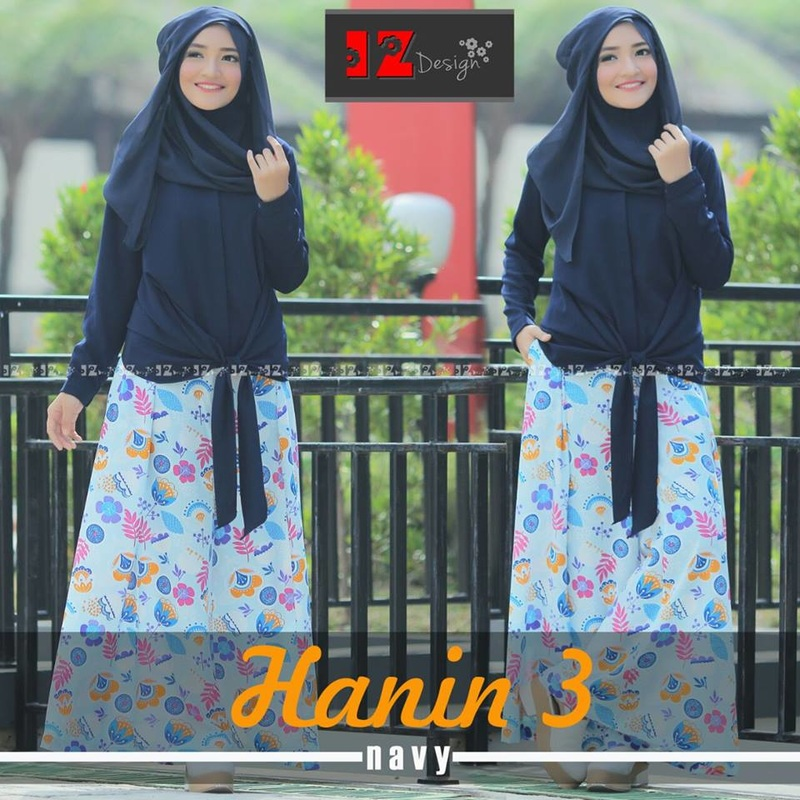 Baju Muslim Hanin 3 By IZ Design