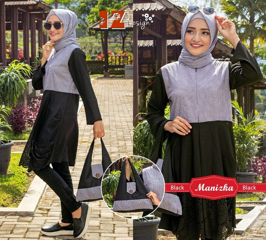 Baju Muslim Manizka Set By Iz Design