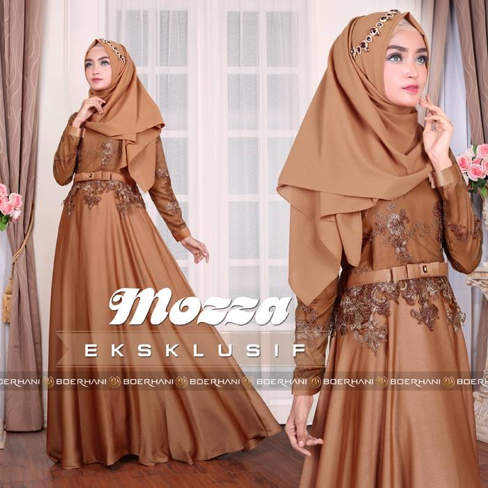 Baju Muslim Mozza Dress By Boerhani