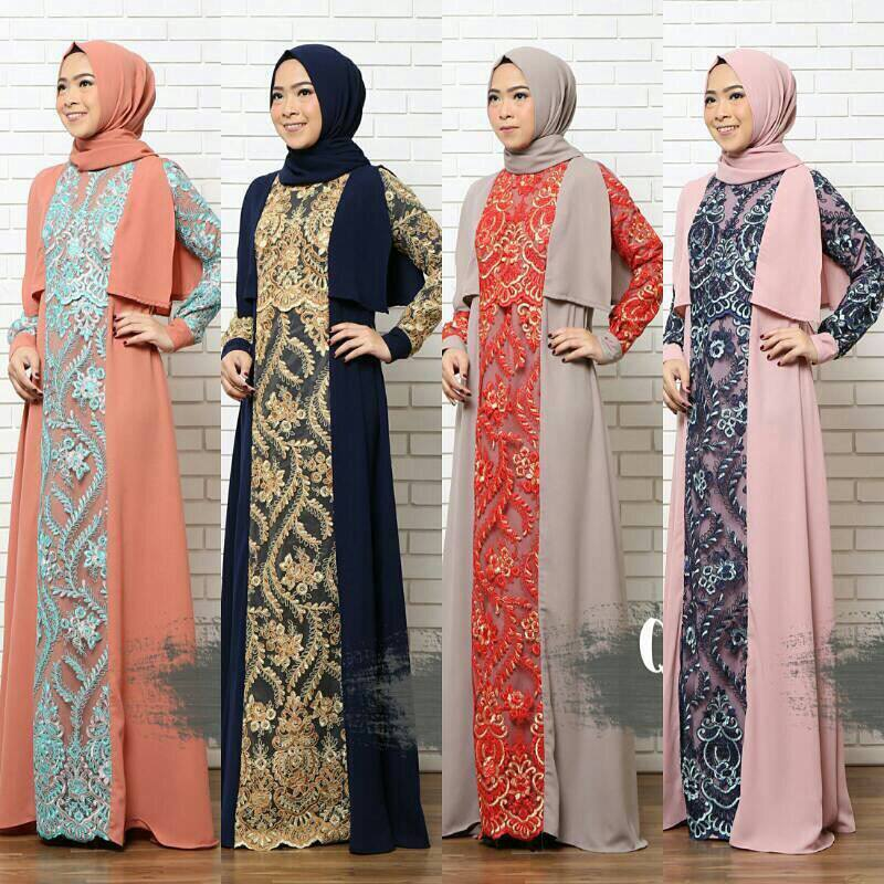 Baju Muslim Terbaru Neiza Vol 3 By Queenalabels