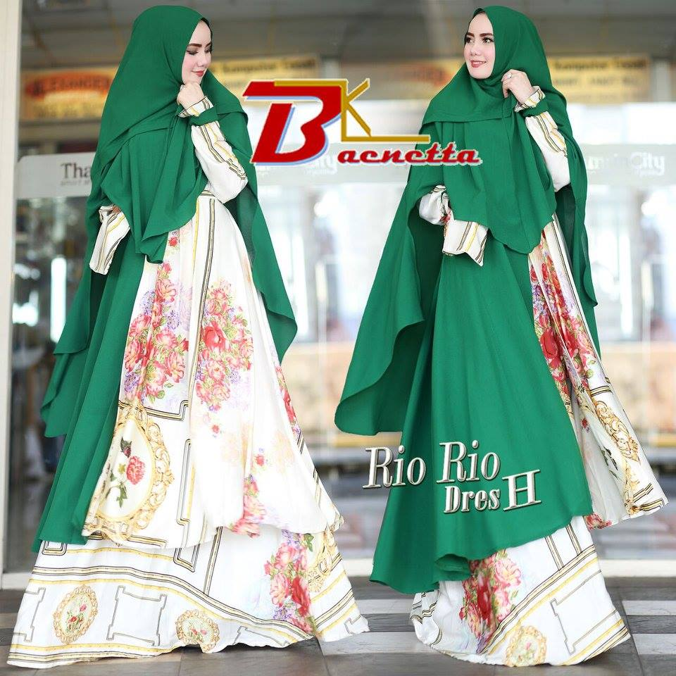 Baju Muslim Terbaru Rio-Rio Dress H By Baenetta