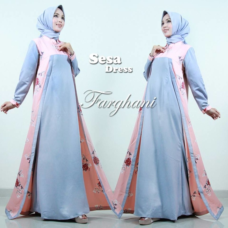 Baju Muslim Sesa dress by farghani
