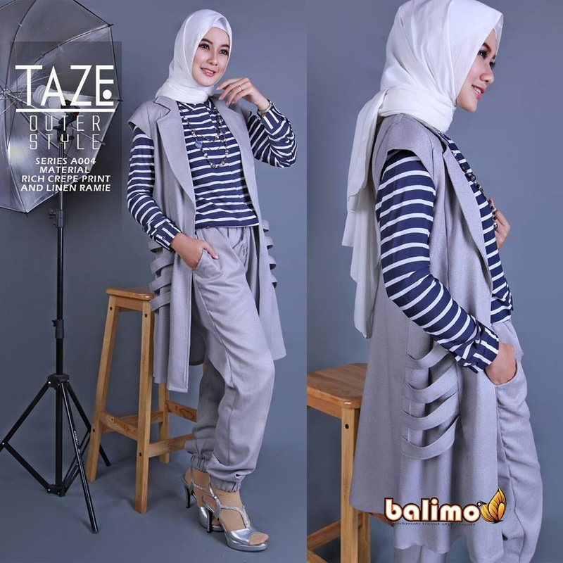 Baju Muslim Taze set vol.3 by BalimoPicture