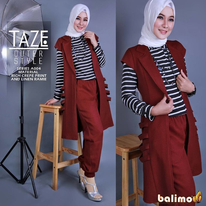 Baju Muslim Taze set vol.3 by Balimo